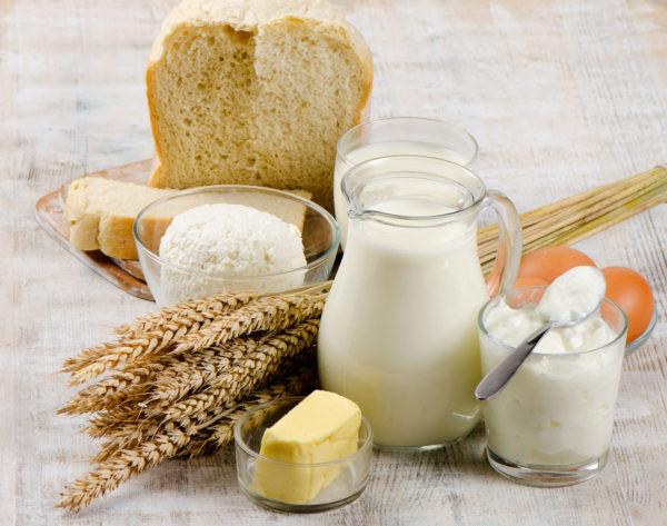 польская кухня, польский завтрак, молочные продукты