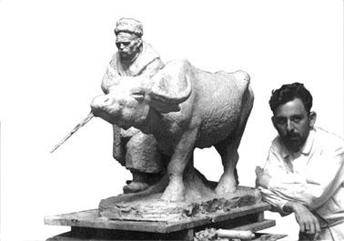 болгарская скульптура, Иван Лазаров, «Они победили»