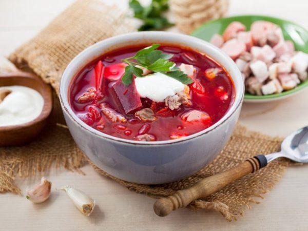 белорусская кухня, белорусский борщ