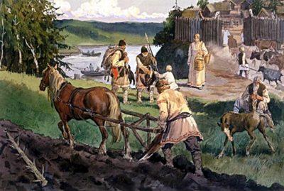 общественный строй славян в VI-VIII веках