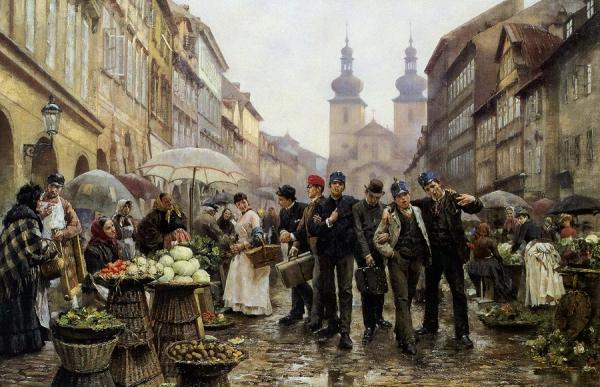 Культурное развитие Чехии в 40-х годах XIX века