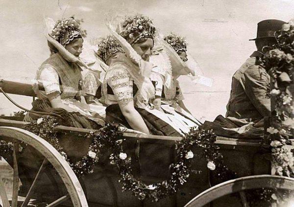 Свадебная церемония у лужичан в XIX-XX веках