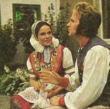 Предшествовавшие свадьбе обычаи у лужичан в XIX-XX веках
