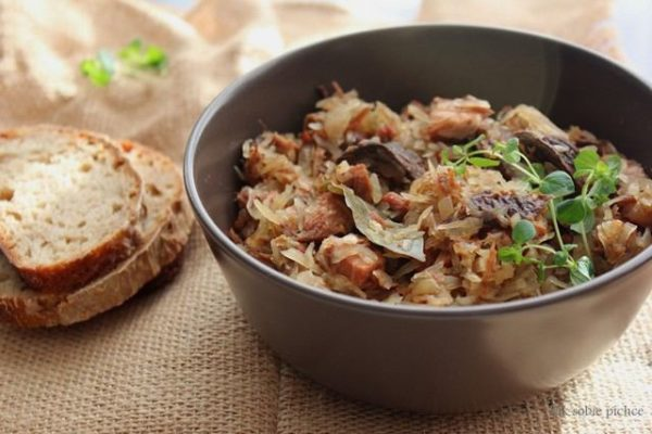 польская кухня, бигос по-старопольски