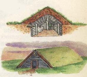 общественный строй славян в VI-VIII веках, жилище славян