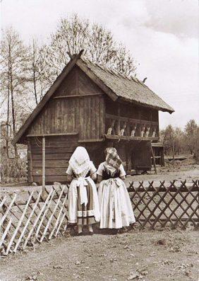 Переезд невесты в дом мужа у лужичан в XIX-XX веках