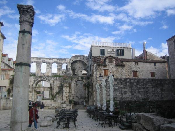 хорватская архитектура, римская архитектура, дворец Диоклетиана I