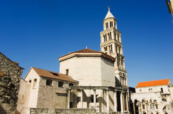 хорватская архитектура, римская архитектура, мавзолей Диоклетиана I