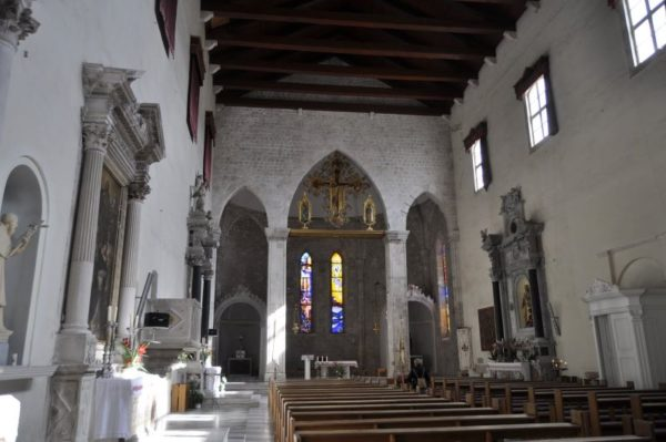 хорватская архитектура, готика, доминиканский монастырь
