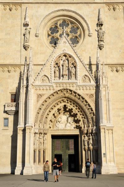 хорватская архитектура, готика, кафедральный собор Вознесения Девы Марии
