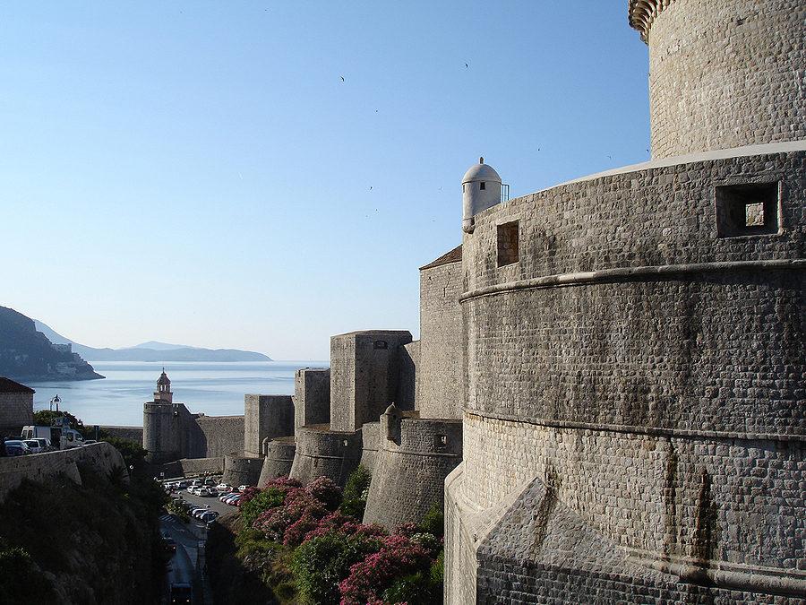 хорватская архитектура, крепостная архитектура