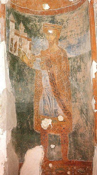 хорватская архитектура, Средневековье, церквь св. Михаила в городе Стон