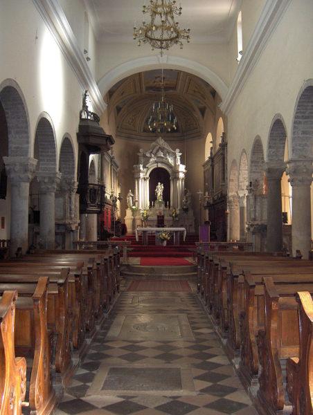 хорватская архитектура, романский стиль, собор св.Марии