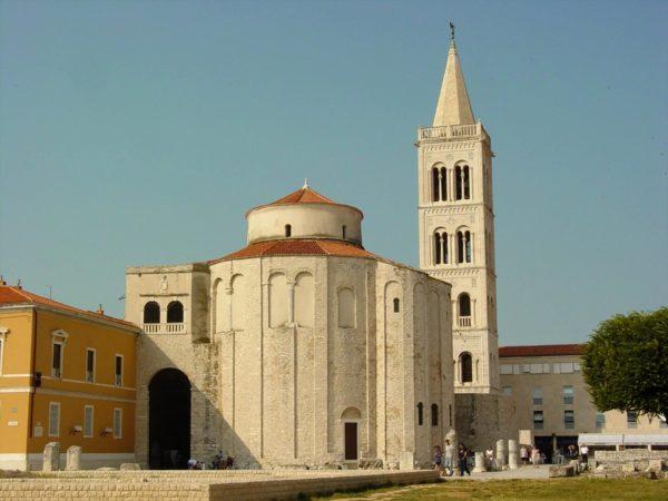 хорватская архитектура, Средневековье, Церковь св. Доната в Задаре