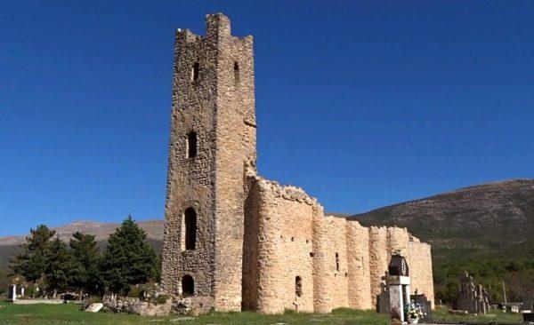 хорватская архитектура, Средневековье, Церковь Спасителя на реке Цетине