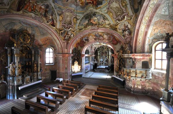 хорватская архитектура, барокко, церковь Богоматери Иерусалимской