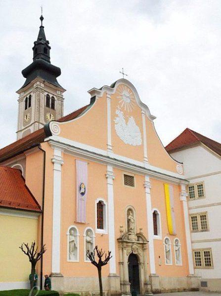 хорватская архитектура, барокко, собор вознесения девы Марии