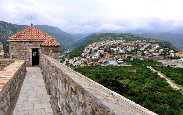 хорватская архитектура, крепостная архитектура, крепость Нехай