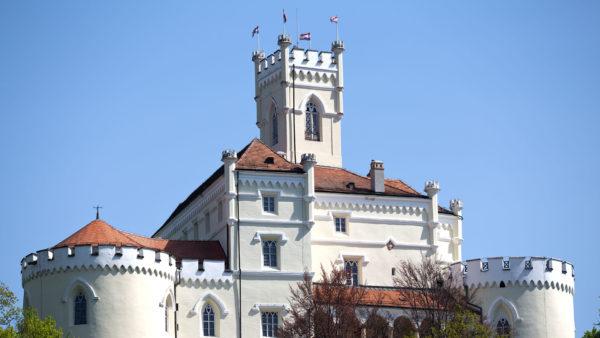 хорватская архитектура, крепостная архитектура, крепость Тракошчан