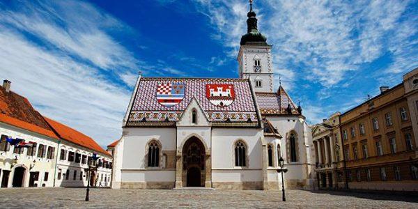 хорватская архитектура, готика, церковь св.Марка