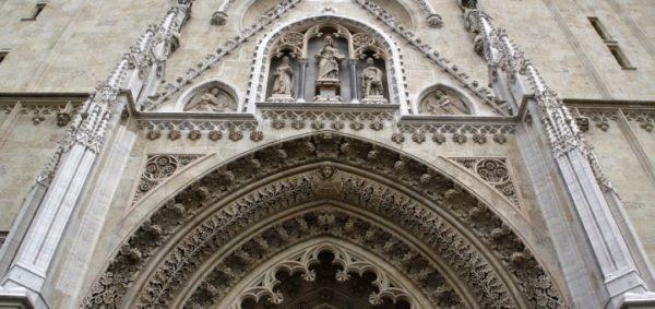 хорватская архитектура, готика