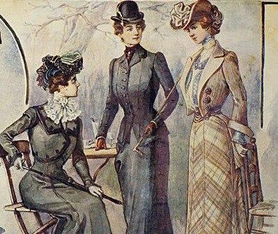 Мода русских дворянок XIX-XX веков