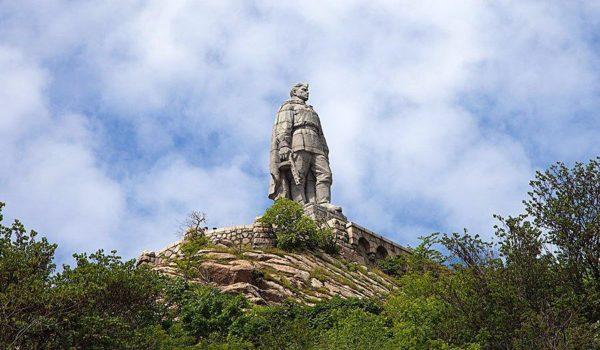 памятник Алёша Болгария Пловдив