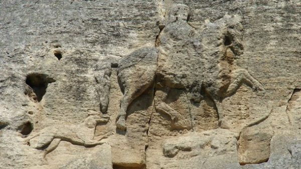 Мадарский всадник, IX век